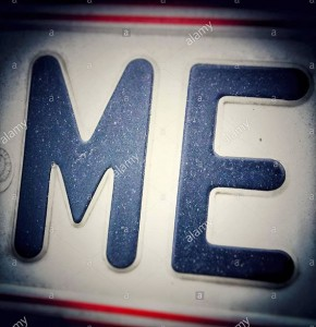 Me license plate stock photography © Queralt Sunyer