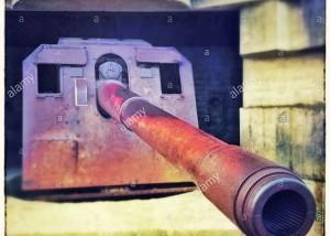 The gun batteries of the Atlantic Wall, Longues sur Mer, France, Calvados © Queralt Sunyer